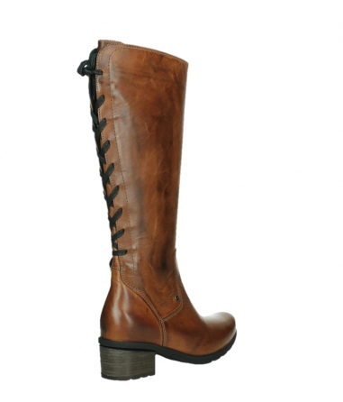 wolky high boots 07505 seoul 30430 cognac leather_22