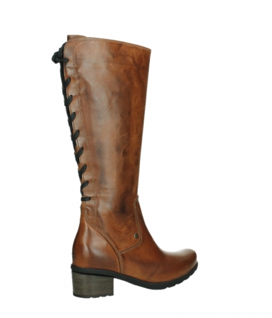 wolky high boots 07505 seoul 30430 cognac leather_23