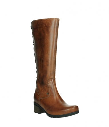 wolky high boots 07505 seoul 30430 cognac leather_4