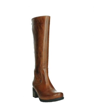 wolky high boots 07505 seoul 30430 cognac leather_5