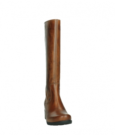 wolky high boots 07505 seoul 30430 cognac leather_6