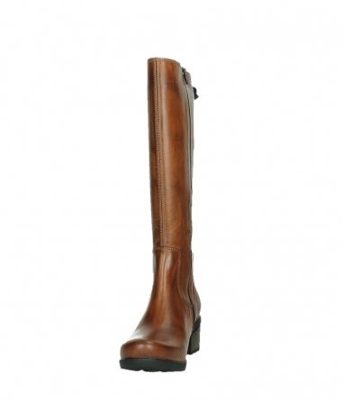 wolky high boots 07505 seoul 30430 cognac leather_8
