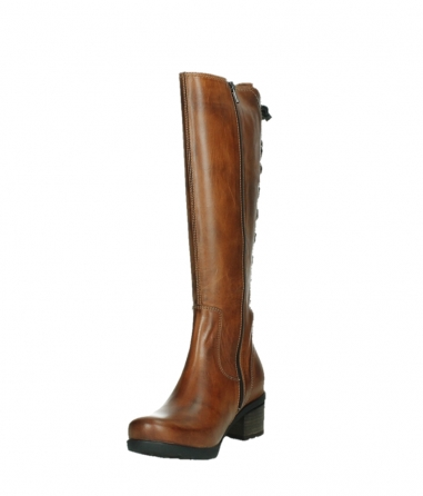 wolky high boots 07505 seoul 30430 cognac leather_9