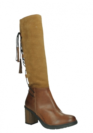 wolky high boots 08062 atasu 34430 cognac leather with suede_3