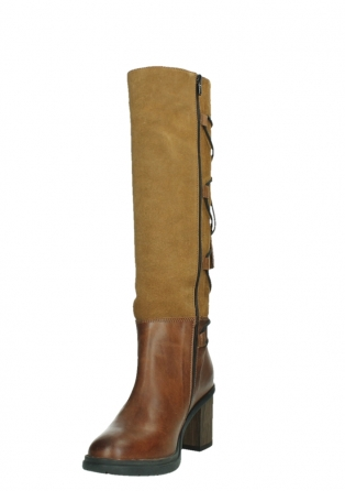 wolky high boots 08062 atasu 34430 cognac leather with suede_9