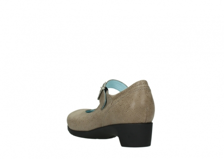 wolky court shoes 07808 opal 90150 taupe leather_5