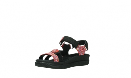 wolky sandalen 00710 energy lady 42500 red mosaic suede_10