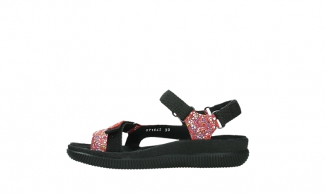 wolky sandalen 00710 energy lady 42500 red mosaic suede_13