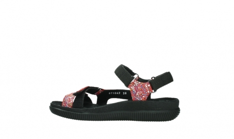 wolky sandalen 00710 energy lady 42500 red mosaic suede_14