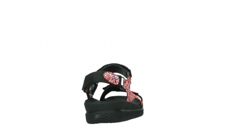 wolky sandalen 00710 energy lady 42500 red mosaic suede_20