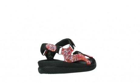 wolky sandalen 00710 energy lady 42500 red mosaic suede_22