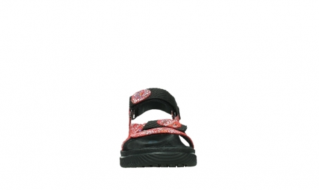 wolky sandalen 00710 energy lady 42500 red mosaic suede_7