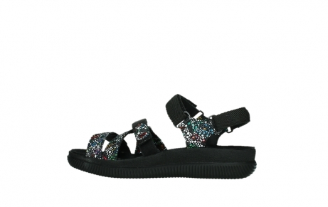 wolky sandalen 00720 action lady 42000 black mosaic suede_14