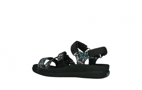 wolky sandalen 00720 action lady 42000 black mosaic suede_15