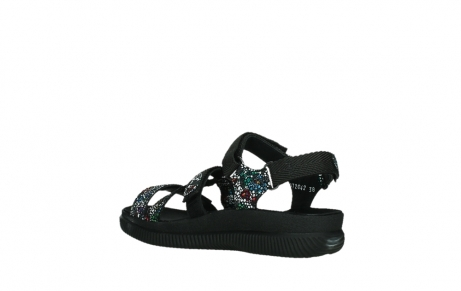 wolky sandalen 00720 action lady 42000 black mosaic suede_16