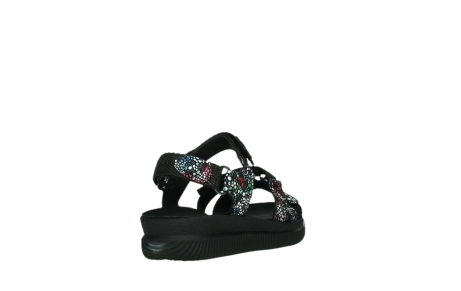 wolky sandalen 00720 action lady 42000 black mosaic suede_21