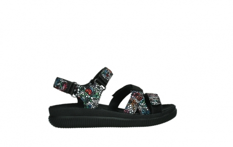 wolky sandalen 00720 action lady 42000 black mosaic suede_24