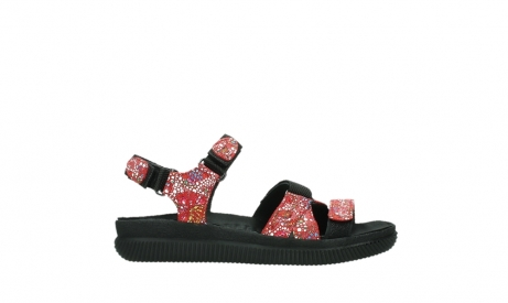 wolky sandalen 00720 action lady 42500 red mosaic suede_1