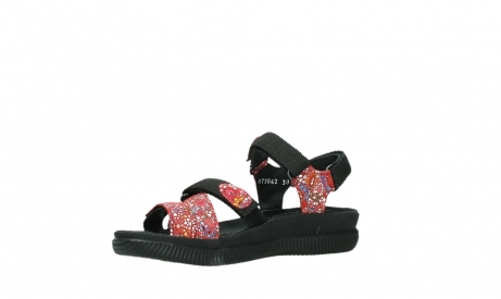 wolky sandalen 00720 action lady 42500 red mosaic suede_11