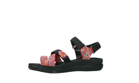 wolky sandalen 00720 action lady 42500 red mosaic suede_12