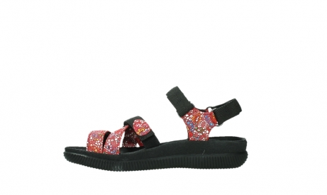 wolky sandalen 00720 action lady 42500 red mosaic suede_13