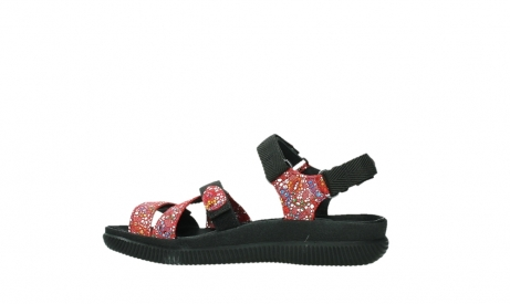 wolky sandalen 00720 action lady 42500 red mosaic suede_14