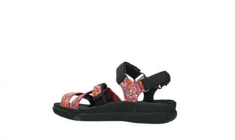 wolky sandalen 00720 action lady 42500 red mosaic suede_15
