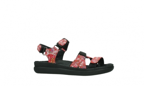 wolky sandalen 00720 action lady 42500 red mosaic suede_2