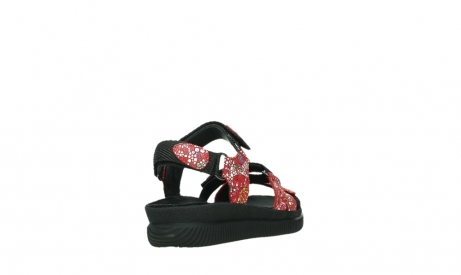 wolky sandalen 00720 action lady 42500 red mosaic suede_21