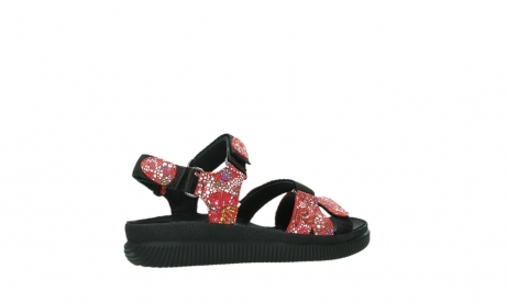 wolky sandalen 00720 action lady 42500 red mosaic suede_23