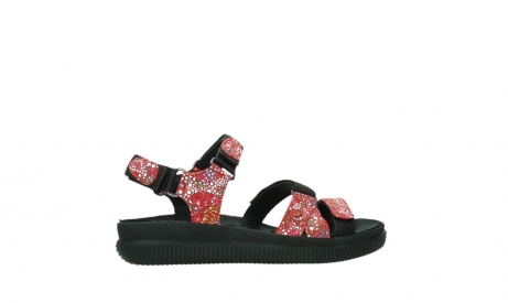 wolky sandalen 00720 action lady 42500 red mosaic suede_24