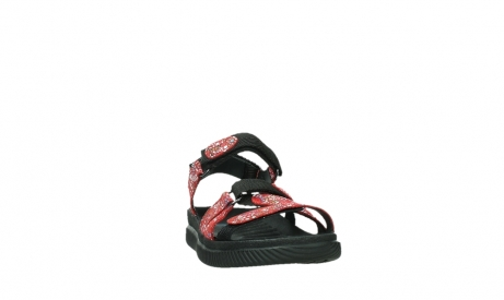 wolky sandalen 00720 action lady 42500 red mosaic suede_6