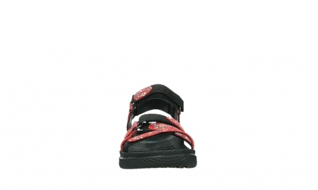 wolky sandalen 00720 action lady 42500 red mosaic suede_7