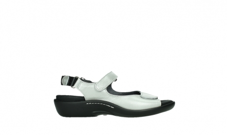 wolky sandalen 01300 salvia 85130 silver leather_1