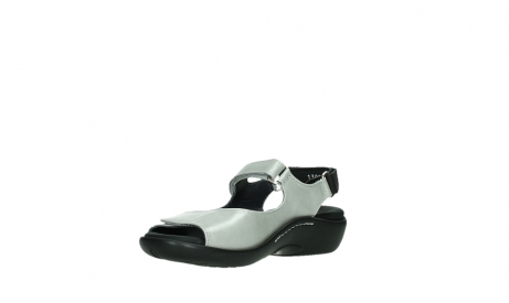 wolky sandalen 01300 salvia 85130 silver leather_10