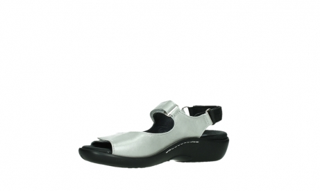wolky sandalen 01300 salvia 85130 silver leather_11