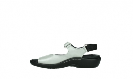 wolky sandalen 01300 salvia 85130 silver leather_13