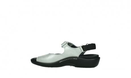 wolky sandalen 01300 salvia 85130 silver leather_14