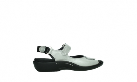 wolky sandalen 01300 salvia 85130 silver leather_24