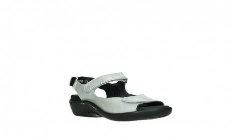 wolky sandalen 01300 salvia 85130 silver leather_4