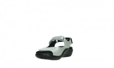 wolky sandalen 01300 salvia 85130 silver leather_9