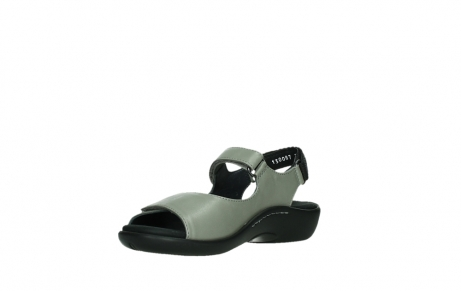wolky sandalen 01300 salvia 87130 silver grey pearl leather_10