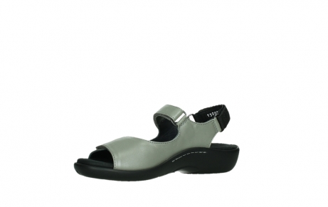 wolky sandalen 01300 salvia 87130 silver grey pearl leather_11