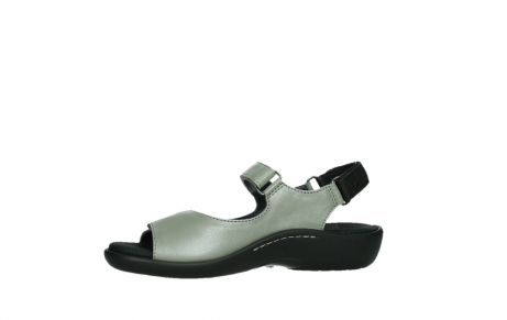 wolky sandalen 01300 salvia 87130 silver grey pearl leather_12