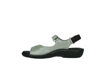 wolky sandalen 01300 salvia 87130 silver grey pearl leather_13