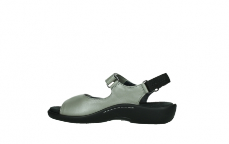 wolky sandalen 01300 salvia 87130 silver grey pearl leather_14