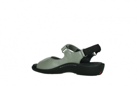 wolky sandalen 01300 salvia 87130 silver grey pearl leather_15