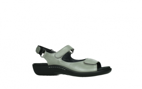 wolky sandalen 01300 salvia 87130 silver grey pearl leather_2