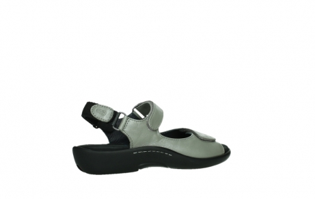 wolky sandalen 01300 salvia 87130 silver grey pearl leather_23
