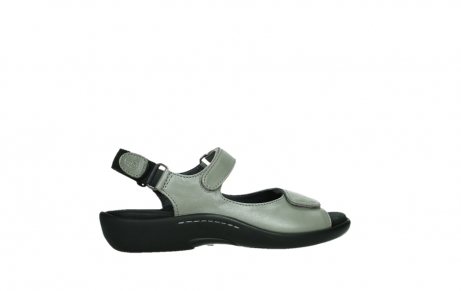 wolky sandalen 01300 salvia 87130 silver grey pearl leather_24